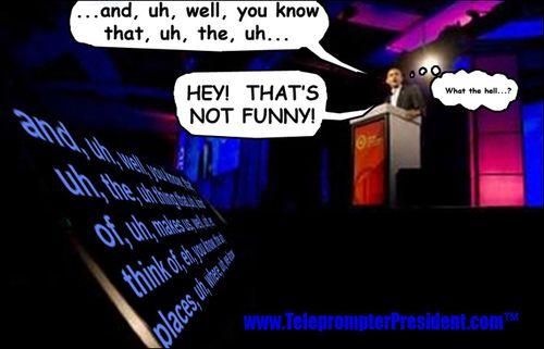 Obamateleprompter