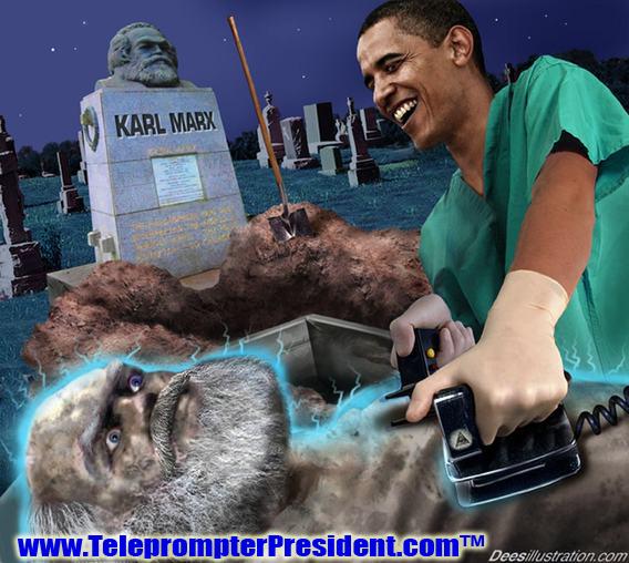 Obama Reviving Karl Marx — By David Dees