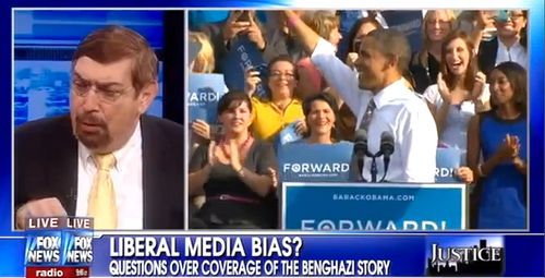 Fox News Video: Liberal Media Bias Over Benghazi - Democrat Pat Caddell's comments begin about 1:15. Powerful.